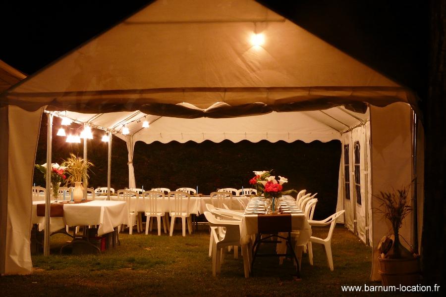 Préféré Barnum Location - Tente de réception 5x8 @CB_11