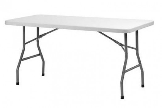 Table rectangulaire 6/8 pers pliante