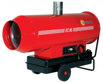 Canon air chaud fuel 80kw