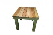 Table bois massif 80x80