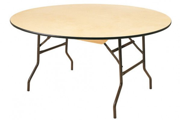 Table ronde 8 pers pliante